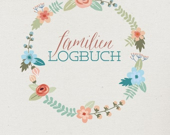 Family Logbook - Diary & Notebook (German)