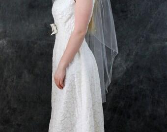 Vintage Sandra Sage Mod Wedding Dress Maxi Dress Gold Flower Long Wedding New tags Open Back Sandra Sage Original Wedding Gown