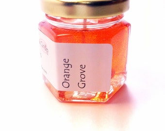 Candles Scented Orange Grove Gel Cute Mini Jar Favors Wedding Party Candle Thank You Bulk Price Available Scented Home Decor