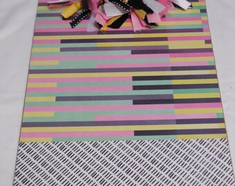 Striped Clipboard