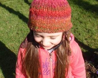 Ready To Ship: Colourful Bauble Hat - Child to Adult