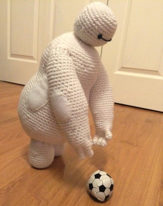 Crochet Amigurumi Baymax Pattern : DIGITAL PATTERN: Baymax Amigurumi from Disneys by ...