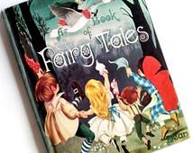 Rare Vintage Dean's A Book of Fairy Tales British Children's Illustrations Janet & Anne Grahame Johnstone