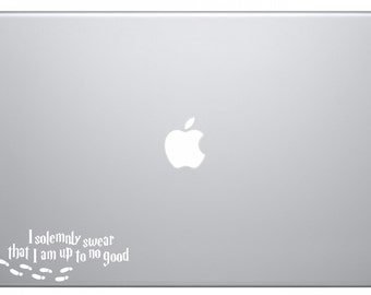 I Solemnly Swear - Harry Potter Laptop Decal