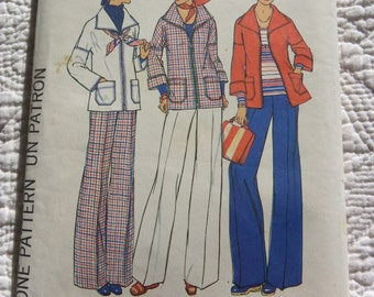 Retro 1976 SIMPLICITY Sewing Pattern 7347