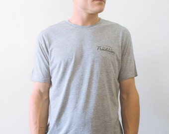 Father's Day Gift // Men's Heritage T-shirt // Minimal shirt //Present for Him // Boyfriend Gift // Simple T-shirt