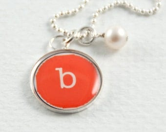 Initial Necklace | Personalized Name Necklace |Letter Necklace Personalized with your Favorite Color