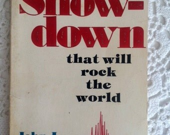 The Showdown that will rock the world, Vintage Paperback Book by John L. Benson, Pastoral Library, End Times