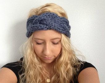 Knit Headband - Braided Knit Headband