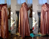 MADE TO ORDER  Cloak Cape Bolton House inspired Games Of Thrones  Hooded Fantasy, Cosplay,  Larp, Wiccan Renaissance Rose