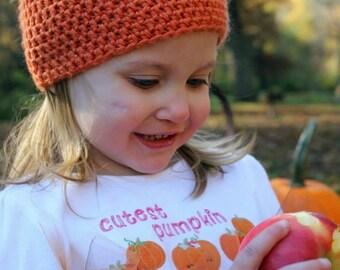 ON SALE!!! Crochet pumpkin hat, halloween hat, Thanksgiving, any size