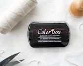 ColorBox Ink Pad - Archival Dye Ink Pad - Stamp Pad - Rubber Stamp Pad - Purple Ink Pad - Black Ink Pad - Gray Ink Pad - Brown Ink Pad