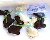Catnip Easter Chocolate Bunny Toy