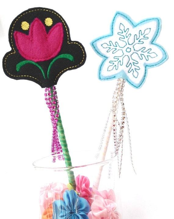 Elsa wand anna wand wands frozen wands frozen by justknottedsc for Anna wand