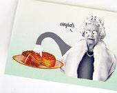Queen Elizabeth birthday card