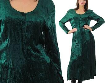 Popular Items For Green Velvet Dress On Etsy