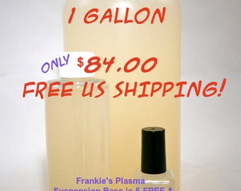 Suspension Base Nail Polish - Make Nail Polish - 5 FREE Suspension Base - Free US Shipping - Frankie's Plasma Suspension Base - 1 GALLON