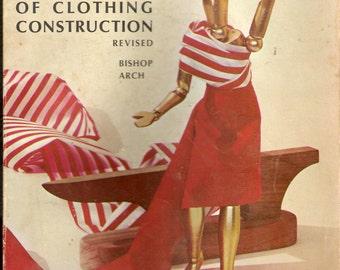 Vintage 1966 The Bishop Method of Clothing Construction Soft Back Book Sewing Instruction