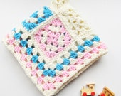 Crochet PATTERN- Crochet Dream Baby Blanket Newborn-Newborn Crochet Blanket