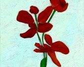 Red Flower - Free Shipping