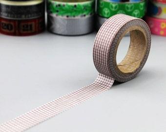 Washi Tape - Japanese Washi Tape - Masking Tape - Deco Tape - WT1043