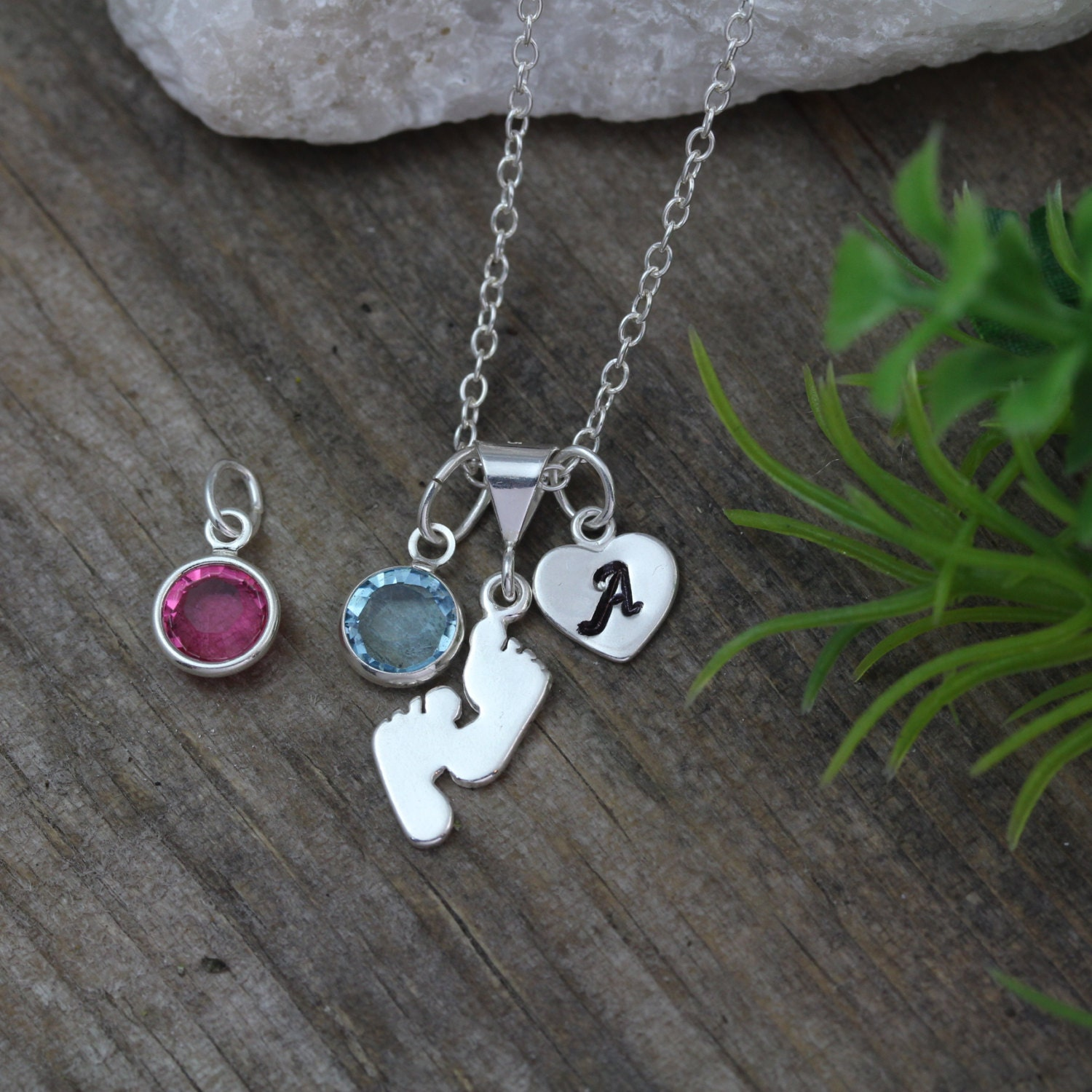 Baby feet necklace its a girl it 39 s a boy baby feet for Baby jewelry near me