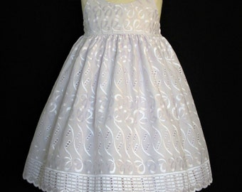 Girls Easter dress church special occasion wedding spring summer size 3 ready to ship MADE in the USA