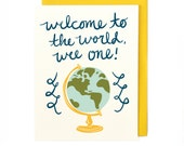 Welcome Wee One Card