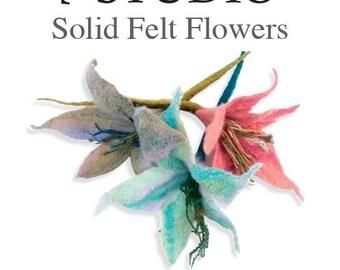 Solid Felt Flowers Materials