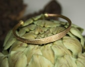 Limited Edition-Hand hammered Brass cuff, Unique texture cuff in Brass, vitage style cuff in brass, Made to order