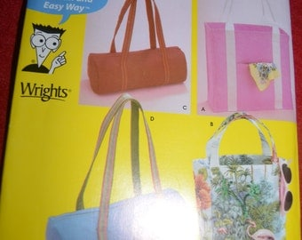 Simplicity 4979 Bags Sewing Pattern - UNCUT