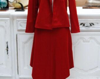 Vintage Red Suit