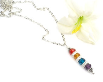 Mothers Birthstone Jewelry: Necklace for Mom, Mother's Day Gift For Grandma  - Mom,  ABeadedStory