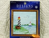 Lighthouse, Counted Cross Stitch Kit, Designs For the Needle 5119, 6 x 6