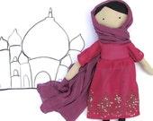 Muslim Girl Doll PDF Sewing Pattern - Dress Up Doll