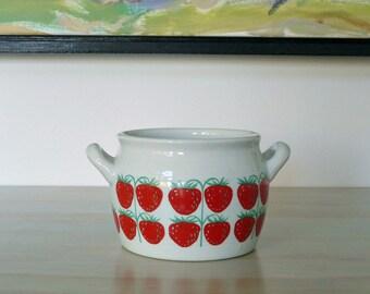 Arabia Finland Strawberry Pot (Pomona Mansikka)
