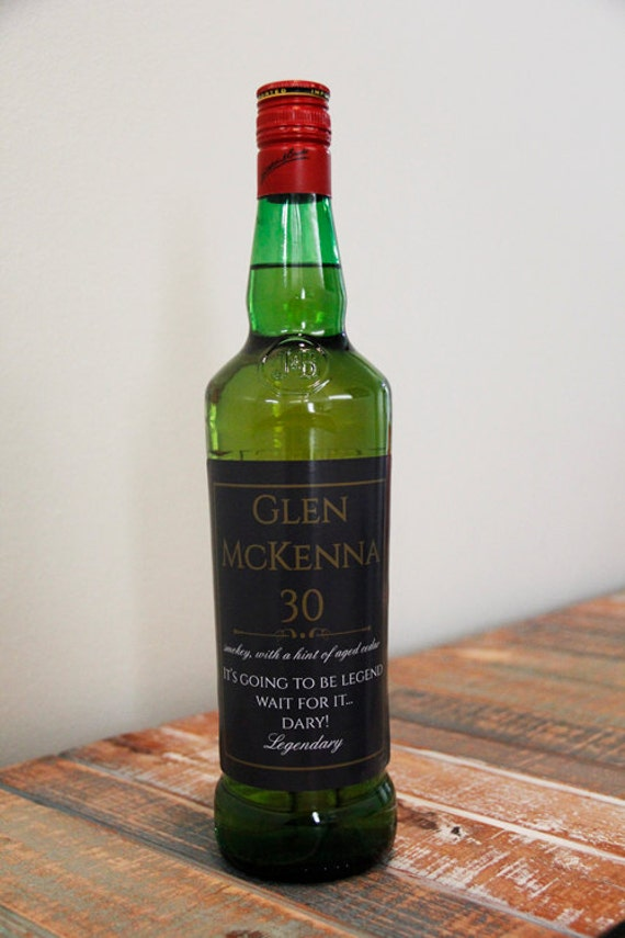 Glen McKenna 30 Year Scotch Label, How I Met Your Mother Scotch