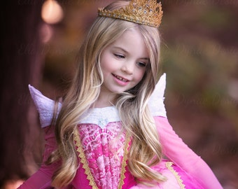 Handmade Princess Aurora Tiara with Swarovski Crystals