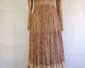 1970's  Gunne Sax dress (small)