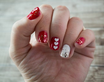 Heart Nail Stickers / Decals