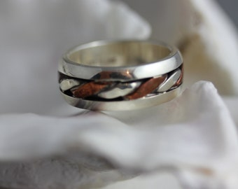 """Shop """"copper gifts for men"""" in Rings"""