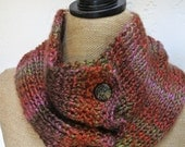 Knitted Cowl in Harvest