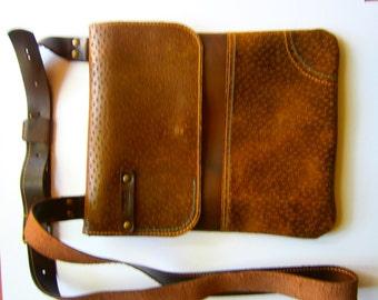 Luxury Ipad LEATHER Bag, Cross body Bag, Cross Over Bag,City Bag,Leather Bag,Gift for him, iPad Pouch, iPad Tote Bag, IPad