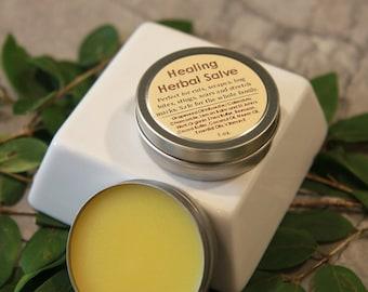 Healing Herbal Salve, All-Purpose to Heal Skin Irritations