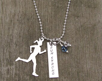 Run Strong Necklace