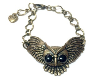Flying Owl Bracelet