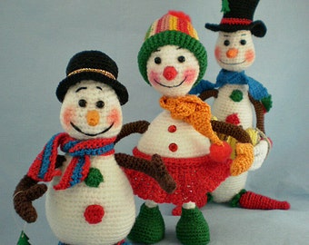 Christmas Toys 3-in-1 [Crochet Pattern PDF Instant Download Amigurumi]