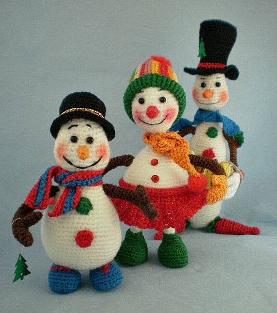 Christmas Toys 3-in-1 Crochet Pattern PDF Instant Download