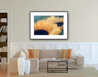 extra large wall art flower photography sunflower photo print huge wall art 24