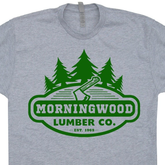 Morningwood lumber company t shirt vintage soft by for Vintage t shirt company